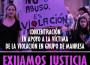 Cartel de la concentración del 8 julio en solidaridad de la violación en Manresa
