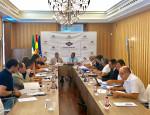 Un momento de la reunión del Consejo de Navegación