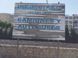 APARCAMIENTO DE CAMIONES EN EL P-4 DE ALMUÑÉCAR